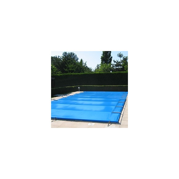B che couverture barres 4 saisons s curit piscine for Bache piscine securite