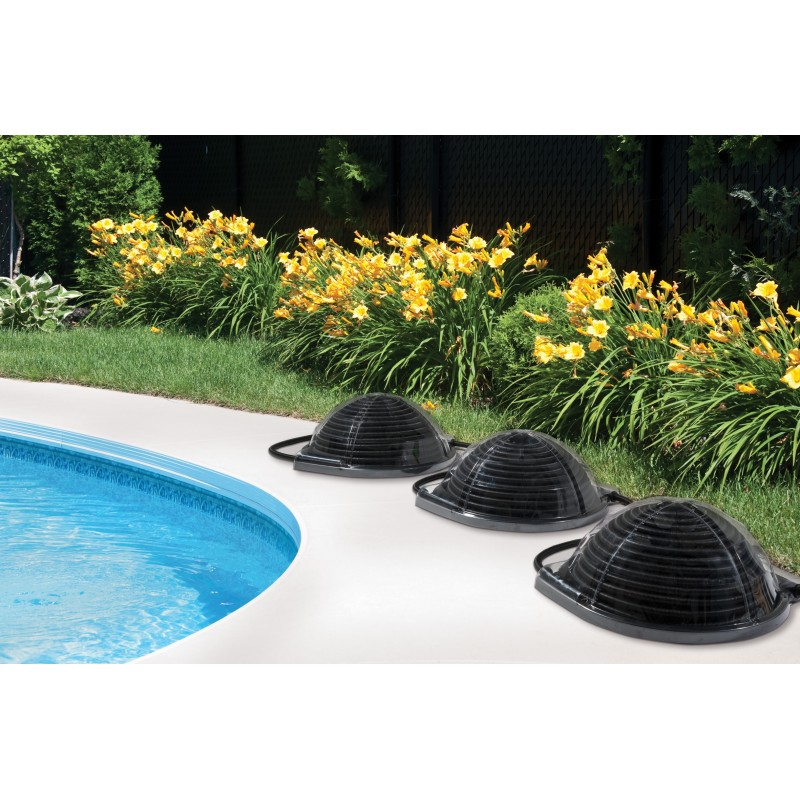 D me solaire mini pool sun for Chauffage solaire piscine dome