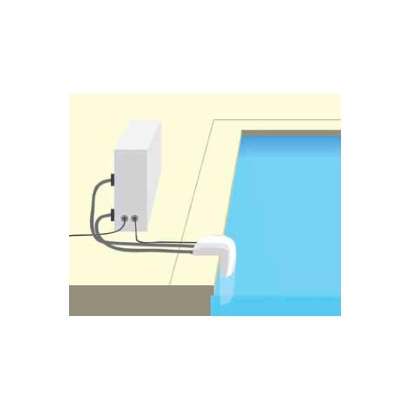 Kit flexible universal connect for Chauffage piscine 12v