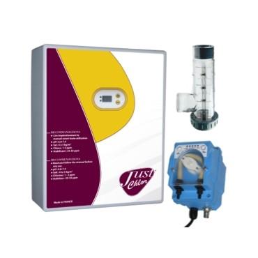 Pack Electrolyseur de sel + Pompe Régul pH Doseco LED