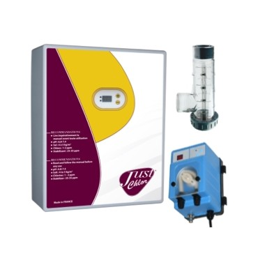 Pack Electrolyseur de sel + Pompe Régul pH Doseco Digital