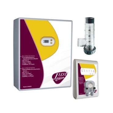 Pack Electrolyseur de sel + Pompe Régul pH Just Chlor
