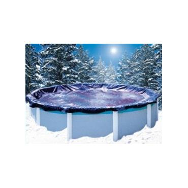 Bâche d'hivernage piscine hors sol Ronde - 140 g/m²