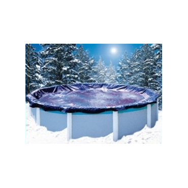 Bâche d'hivernage piscine hors sol Ovale