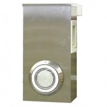 Bloc Skimmer Aluminium avec éclairage WATER'CLIP (ex Cristaline)