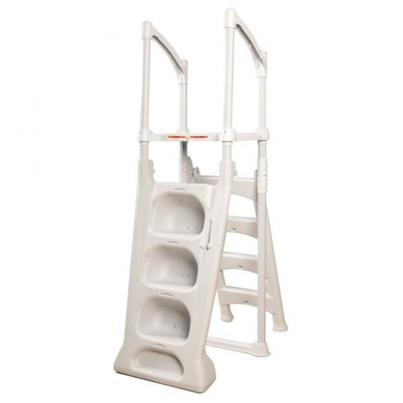 Echelle double escalier r sine h2o piscine hors sol ht 1 22 m - Piscine resine hors sol ...