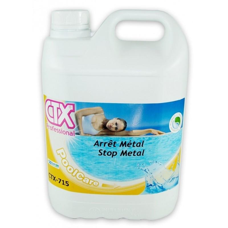 Entretien de piscine anti m taux lourds arr t m tal ctx 715 for Stop metal pour piscine