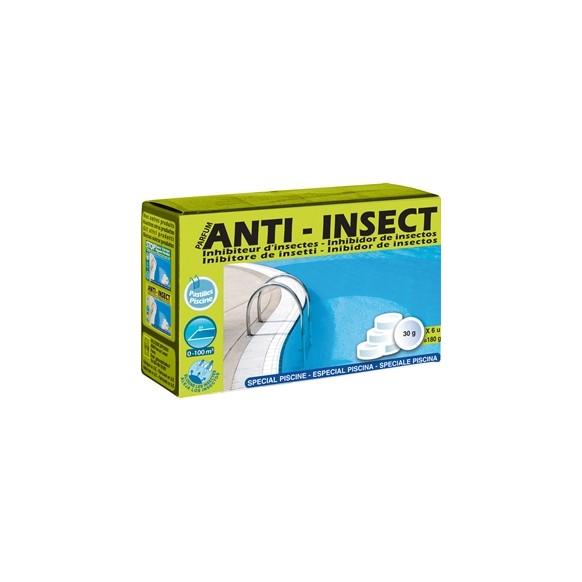 anti insectes boite pastille 30 grammes entretien piscine