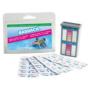 HTH BAQUACIL POOLTEST kits d'analyse piscine équilibre de l'eau