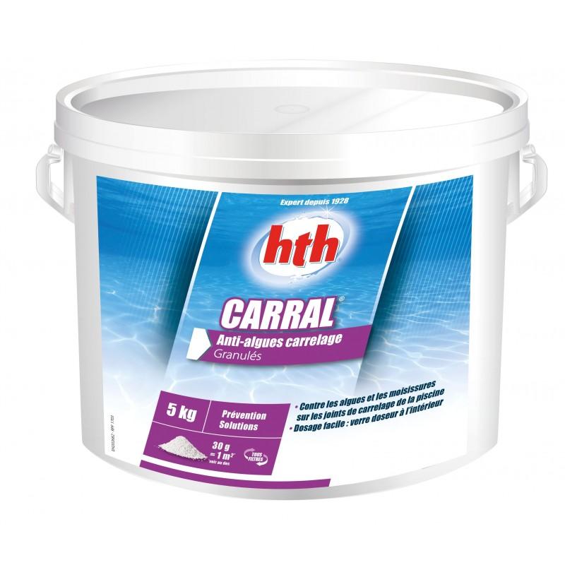 Anti algues pour joints de piscine carrel e hth carral for Anti algues pour piscine