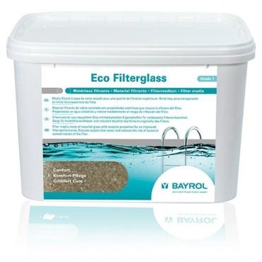 Entretien piscine Bayrol Eco Filterglass amélioration filtration piscine