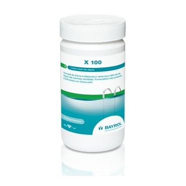 Algicide Bayrol X 100 chlore actif