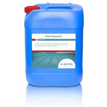 Traitement d eau Bayrol Chloriliquide C chlore non stabilisé