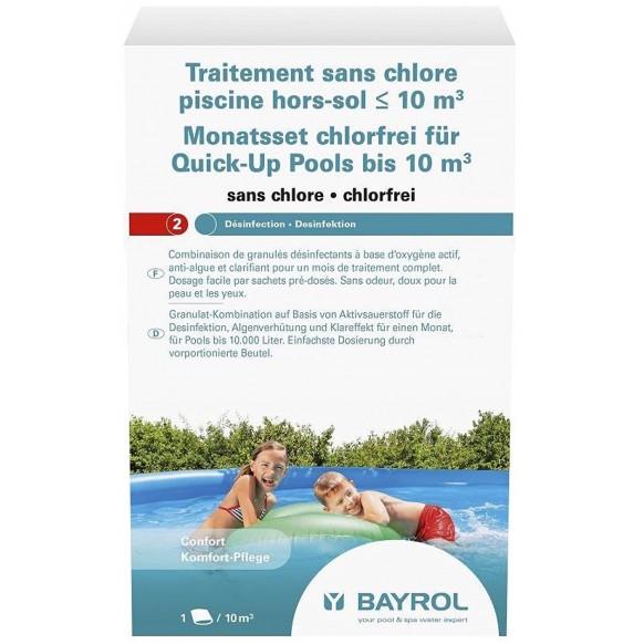 entretien piscine bayrol traitement sans chlore oxyg ne actif piscines hors sol. Black Bedroom Furniture Sets. Home Design Ideas