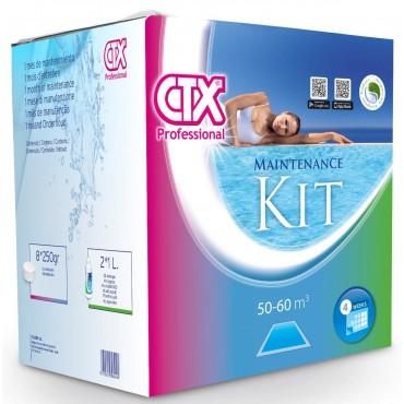 Kit de traitement de l eau de 1 à 2 mois désinfection choc