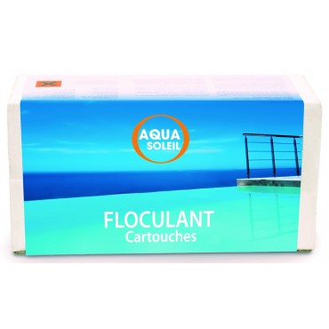 Floculation floculant cartouches 125g 1kg
