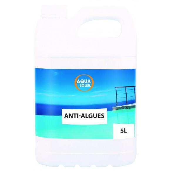 Algicide anti algues aquasoleil 5 litres for Anti algues piscine