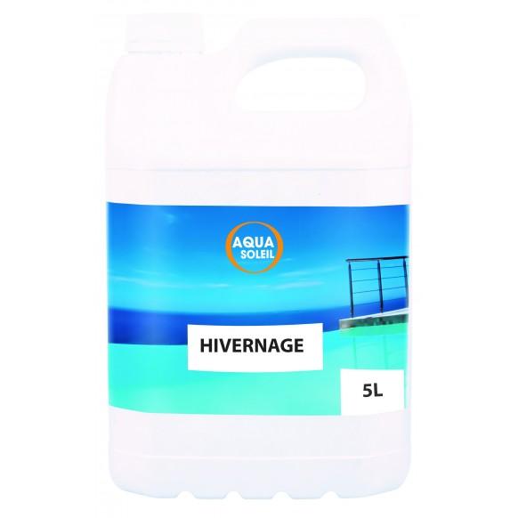 Produit d 39 hivernage piscine en bidon de 5 litres for Produit hivernage piscine
