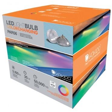 Lampes RGB 35 W 252 LED couleur