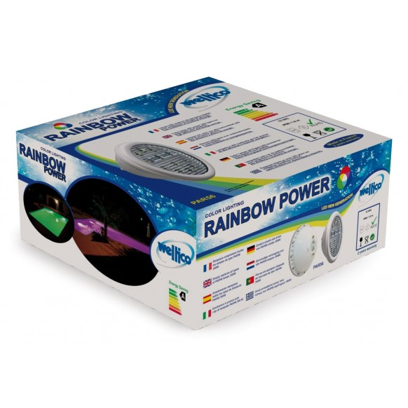 Ampoules led rainbow power pour piscine for Ampoule pour piscine