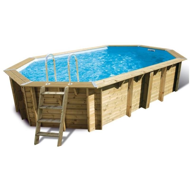 piscine grande en bois oc a ubbink 355 x 550. Black Bedroom Furniture Sets. Home Design Ideas