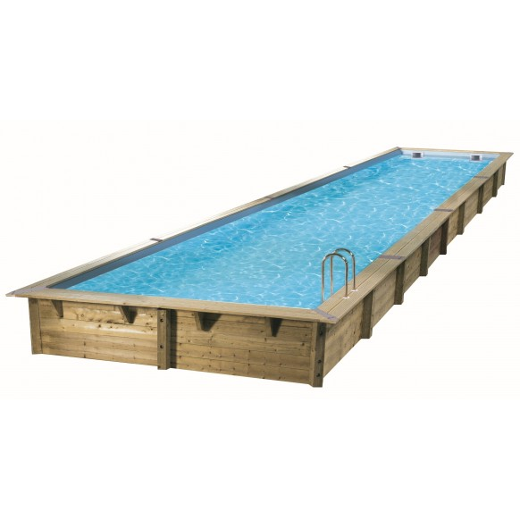 Piscine rectangulaire ubbink lin a 350 x 1550 for Liner piscine 350 x 120