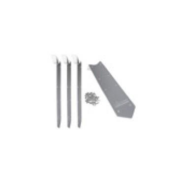 Set d'éléments de raccordement en aluminium de 45° Ubbink