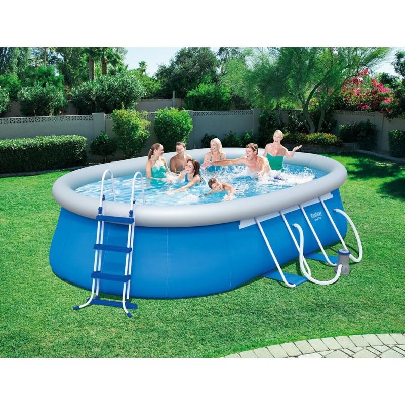 Bestway piscine auto portante for Best way piscine