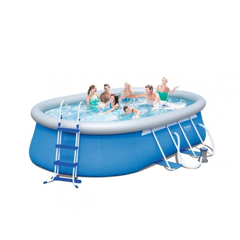 Bestway piscine auto portante for Piscine bestway 3 66