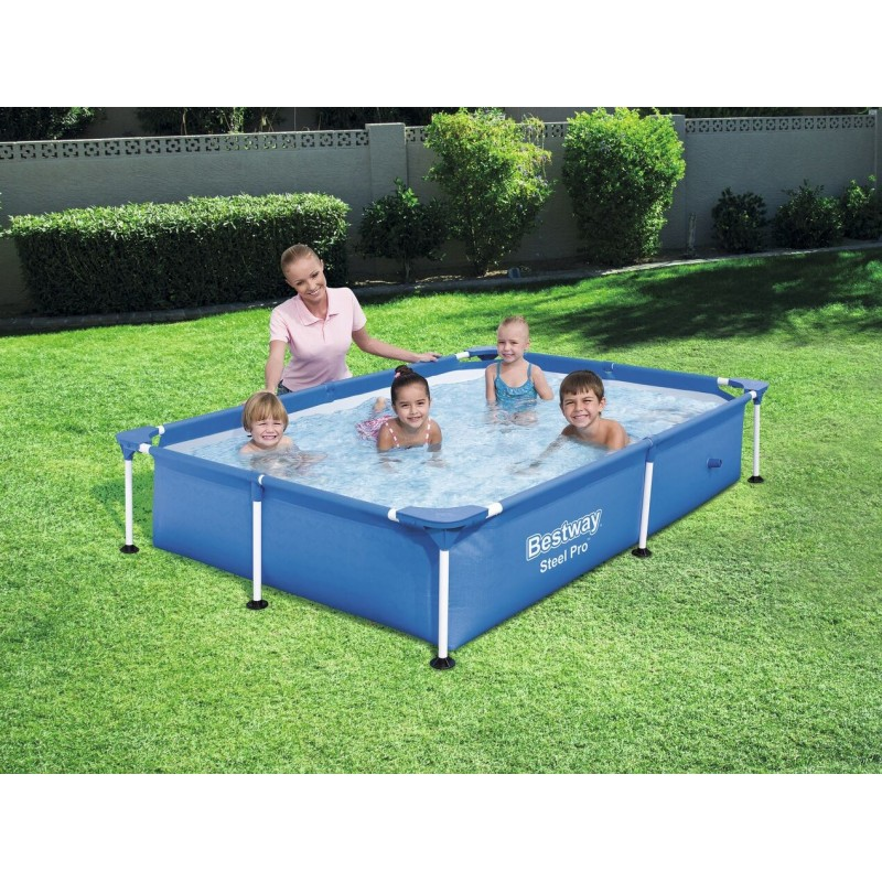 Piscine rectangualaire splash junior for Liner pour piscine bestway