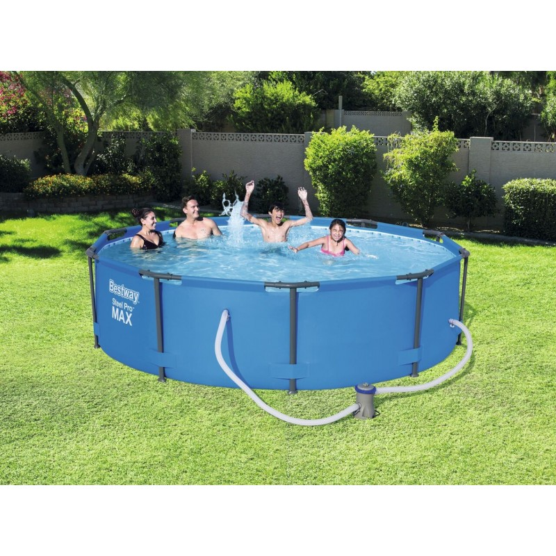 Piscine ronde tubulaire for Liner pour piscine bestway