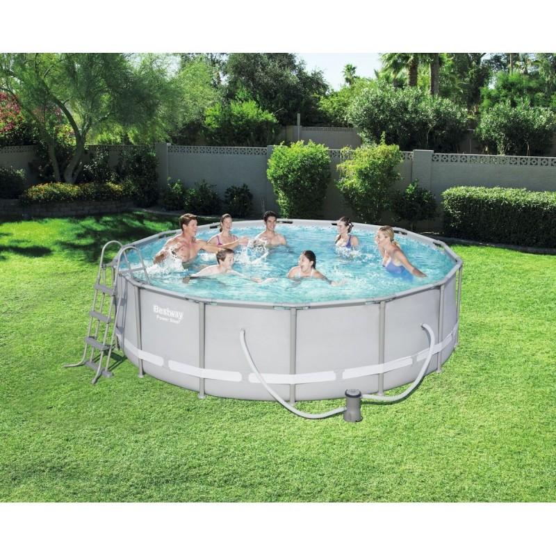 kit piscine hexagonale steel pro frame pools bestway. Black Bedroom Furniture Sets. Home Design Ideas