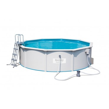 Kit Piscine Ronde Steel Wall Pool D 460cm h 120cm