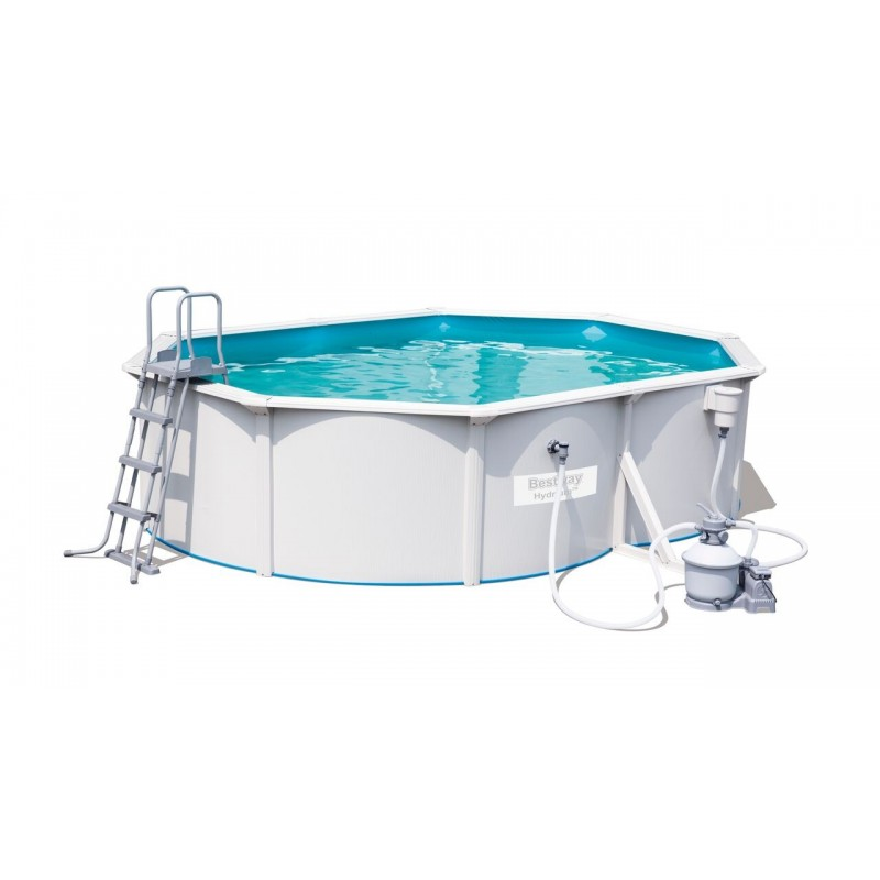 Kit piscine ovale steel wall pool for Piscine acier ovale hydrium 5 00 x 3 60 x 1 20 m