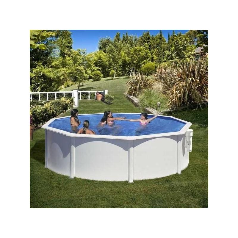 kit piscine hors sol ronde fidji. Black Bedroom Furniture Sets. Home Design Ideas