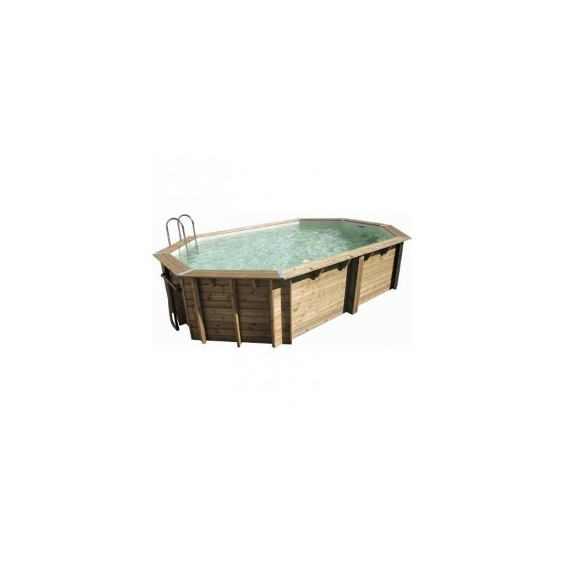 Piscine bois super tonga ubbink for Piscine ubbink