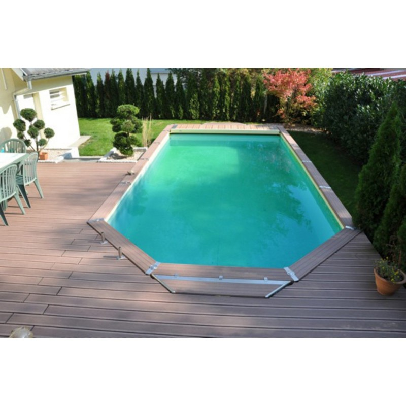 Kit piscine en bois azteck by waterman for Piscine hors sol 4 60