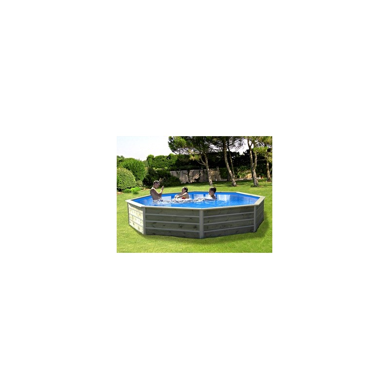 Piscine bois water 39 clip kid hexagonale bohol for Piscine cristaline