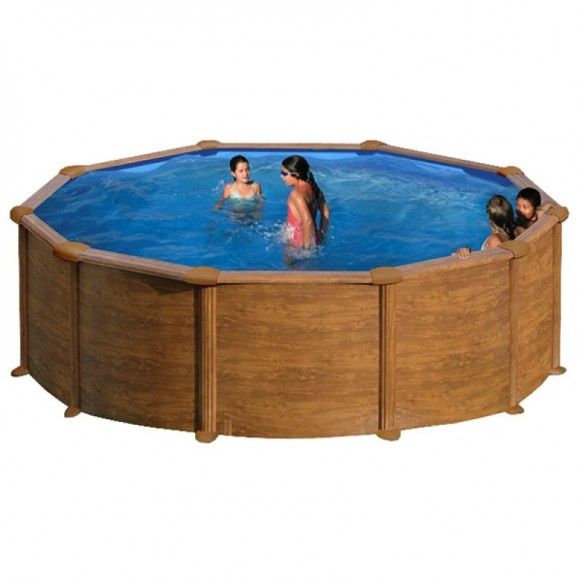 Kit piscine hors sol ronde mauritius for Piscine hors sol gre ronde