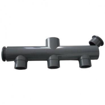 Collecteur PVC - 3 Entrées / 1 Sortie