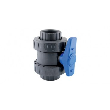 Vanne PVC à boisseau sphérique PN-10