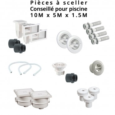 Pi ces sceller easypiscine for Pieces pour skimmer piscine