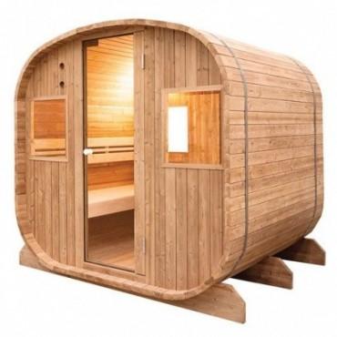 Holl's Barrel Sauna vapeur d'extérieur