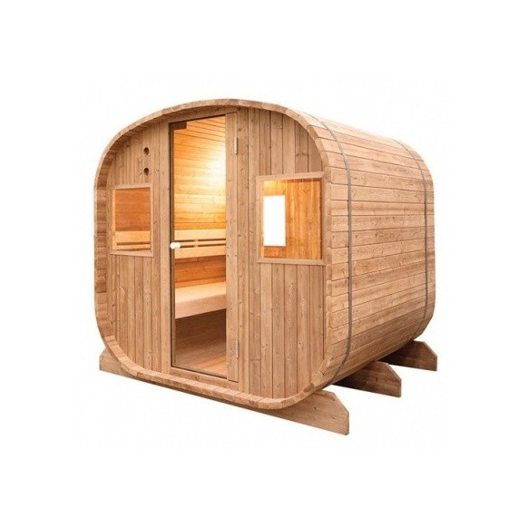 sauna vapeur d 39 ext rieur barrel holl 39 s. Black Bedroom Furniture Sets. Home Design Ideas