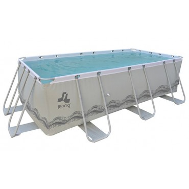 Kit piscine rectangulaire hors-sol tubulaire Mistral Jilong