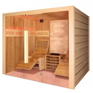 Cabine de sauna traditionnelle Holl's Alto Stone