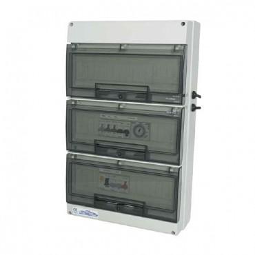 Coffret mono avec différentiel 30 mA, Pompe Eclairage Transfo 300 ou 600 W Astral