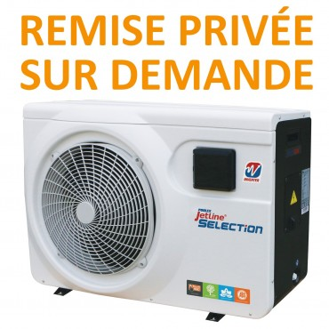 Pompe à chaleur/PAC Poolex Jetline Sélection Inverter Pro NEW 2017