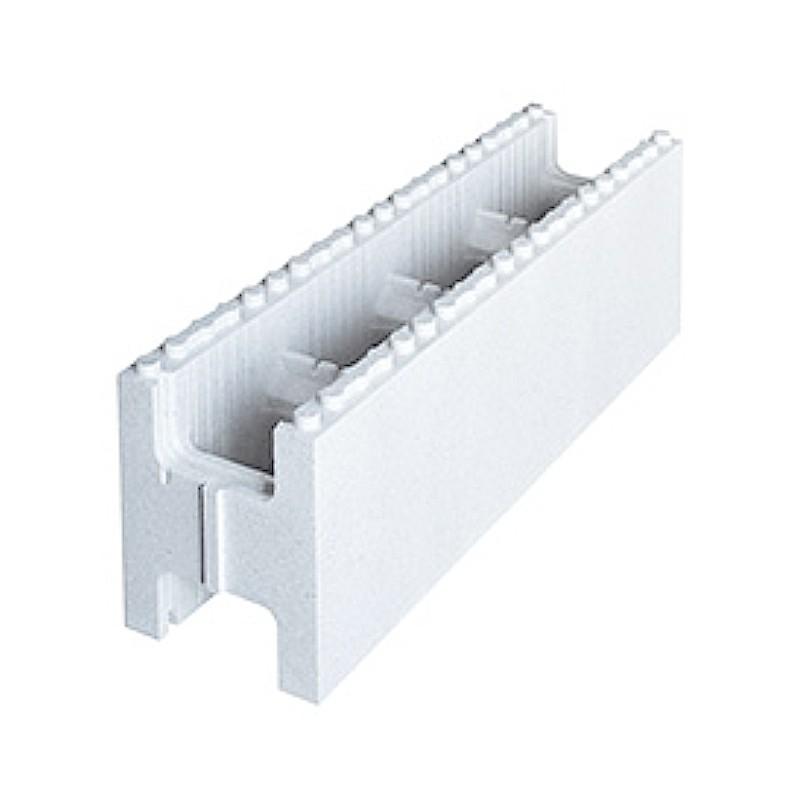 Kit structure piscine rectangulaire blocs polystyr ne de 1 m styrobloc - Parpaing polystyrene pour piscine ...