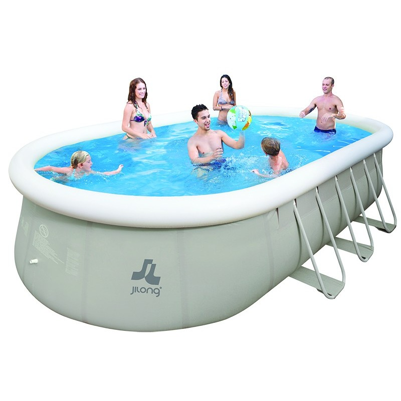 Jilong chinook piscine tubulaire for Aspirateur piscine hors sol jilong